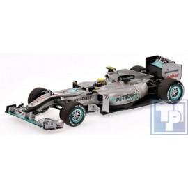 Mercedes, GP Petronas MGP W01, 1/43
