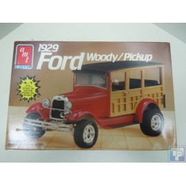 Ford, Woody Pickup, 1/25