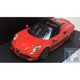 Alfa Romeo, 4C Spider, 1/18