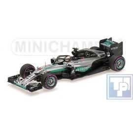 Mercedes, AMG Petronas W07 Hybrid, 1/43