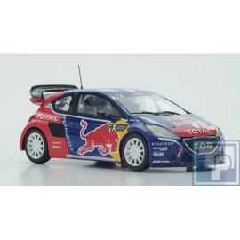 Peugeot, 208 WRC, 1/43