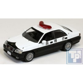 Toyota, Crown, Polizei Japan, 1/43