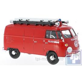 """Volkswagen VW, T1 Bus, """"Feuerwehr"""", 1/24"""