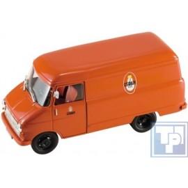 """Opel, Blitz A Van, 1960, rot, """"Osram"""",""""1/43"""", 1/43"""