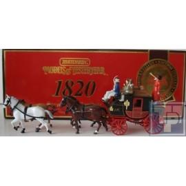 Passenger, Coach mit Pferden, 1/43