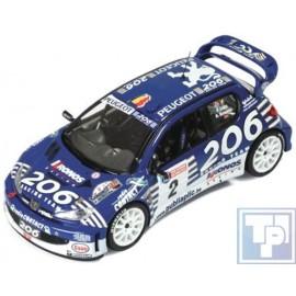 Peugeot, 206 WRC, 1/43