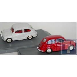 "Seat, 500 D Berlina Stradale 1960 weiss""1/43"", 1/43"